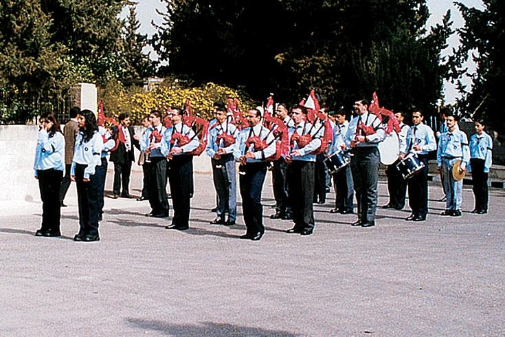 Ορχήστρα Αμμάν Ορθοδόξων Προσκόπων και Οδηγών Ιορδανίας
