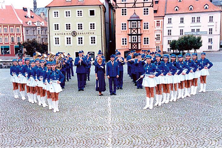Νεανική Ορχήστρα Πνευστών Χεμπ, Τσεχία