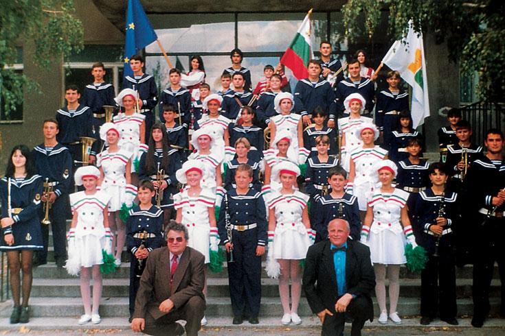 """Νεανική Ορχήστρα Πνευστών """"Diko Iliev"""" Βάρνα, Βουλγαρία"""