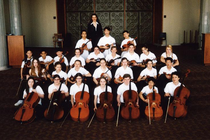 Νεανική Συμφωνική Ορχήστα Φέις Τσέιμπερ, Καναδάς