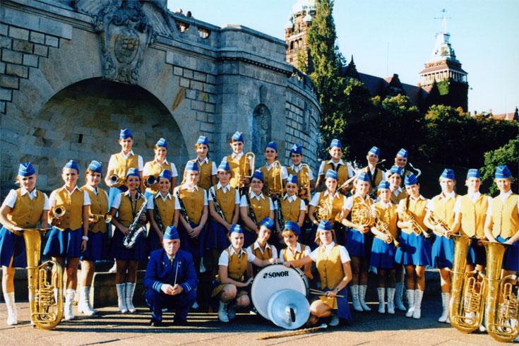 Ορχήστρα Πνευστών Γκολένιωβ, Πολωνία
