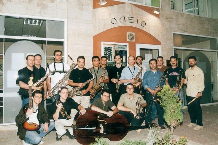 Magic Road Big Band του ωδείου Τούμπας Κ. Ματσίγκου