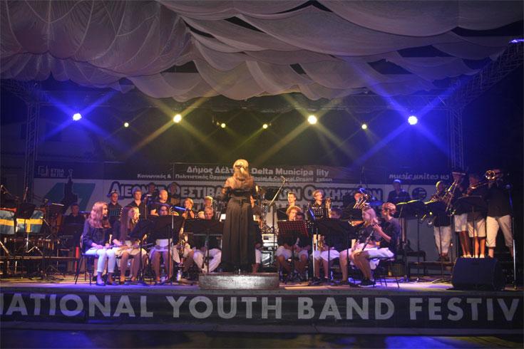 Νεανική Συµφωνική Ορχήστρα Πνευστών Νάκα, Σουηδία