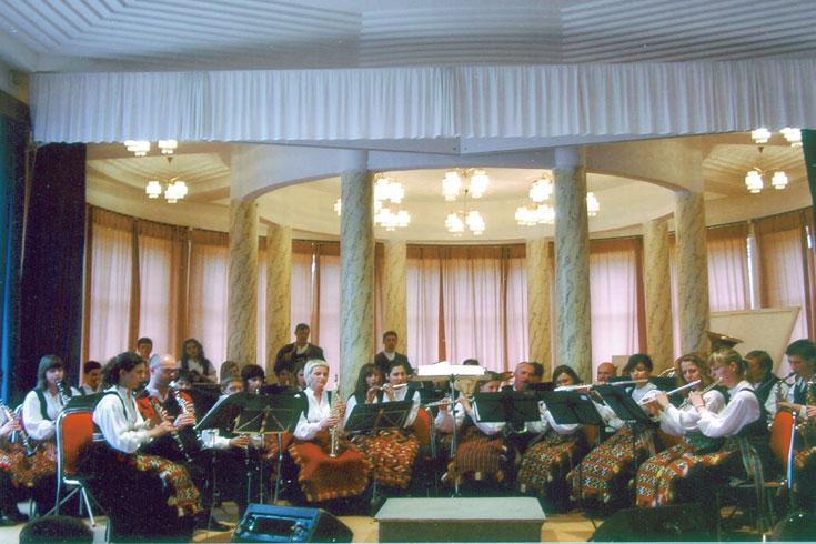 Ορχήστρα Πνευστών Ντρίνιτς, Κροατία