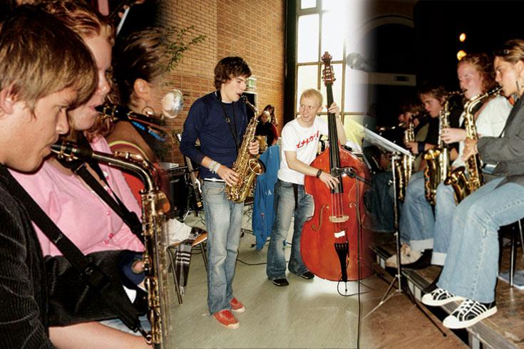 """Μεγάλη Ορχήστρα (Μπιγκ Μπαντ) του Μουσικού Σχολείου """"Νύκοβινγκ Φάλστερ"""", Δανία"""