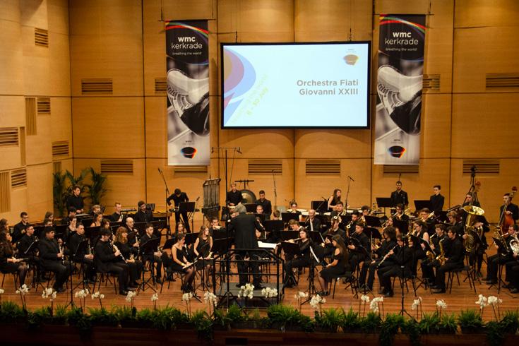 Ορχήστρα Πνευστών Ιωάννης 23ος, Πιανέτσα, Ιταλία