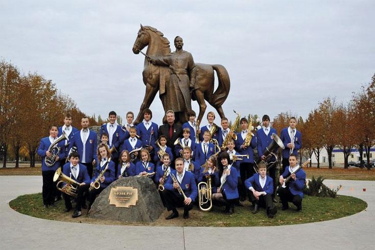 Νεανική Ορχήστρα Πνευστών Πόρτρετ, Ουκρανία