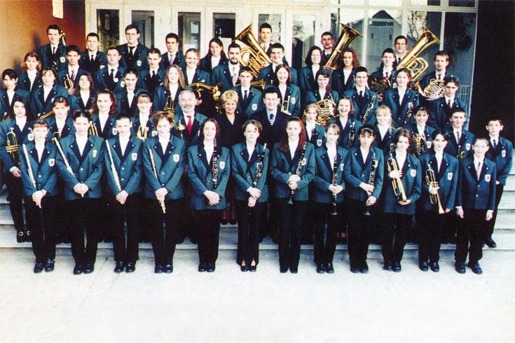 Νεανική Ορχήστρα Πνευστών Τετ, Ουγγαρία