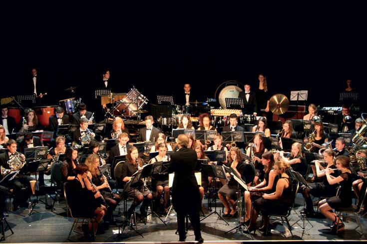 Νεανική Ορχήστρα Πνευστών Ούπερ Ρίνε, Γερμανία